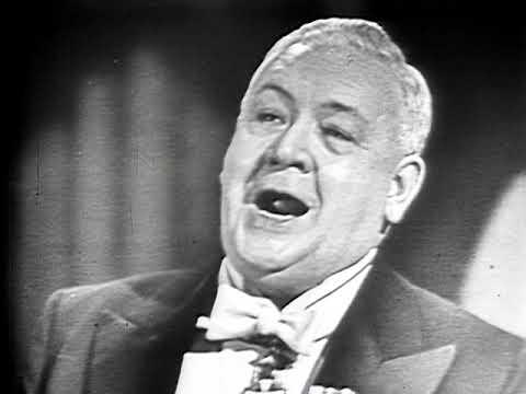Lauritz Melchior, tenor - d'Hardelot - Because (1950 - video)