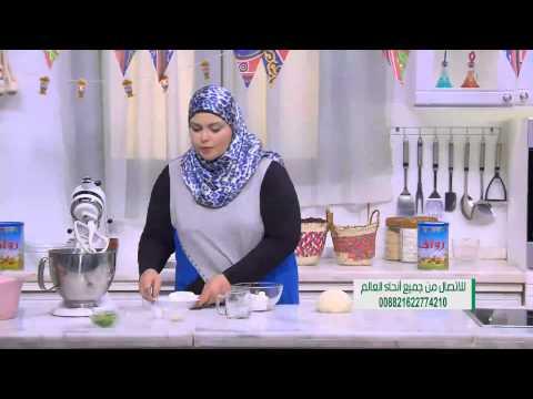 خبز محشي جبنة قريش :  نجلاء الشرشابي