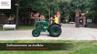 CIĄGNIK - STOCK DIESELSCHLEPPER w zbiorach Muzeum Rolnictwa w Ciechanowcu