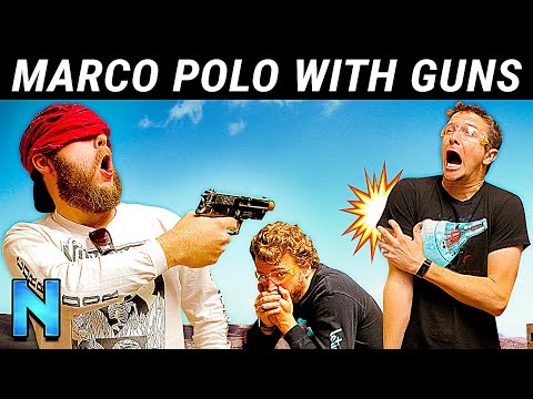 Airsoft: Marco Polo!