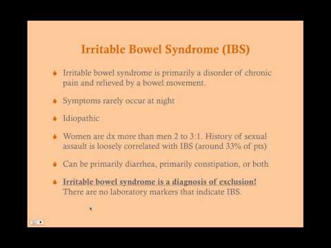 Irritable Bowel Syndrome - CRASH! Medical Review Series