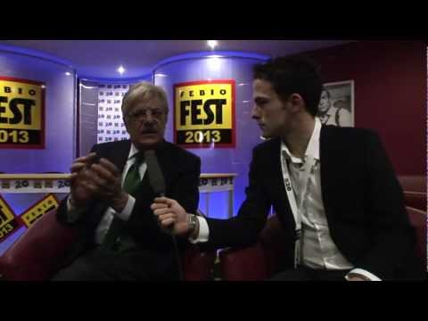 Interview to Giancarlo Giannini at Febio Fest 2013