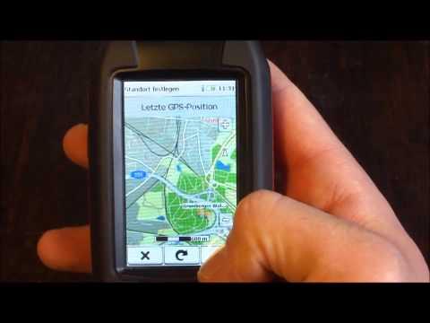 Falk Lux 30 GPS Gerät Funktionen,Test