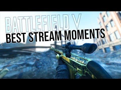 Battlefield 5 BEST Livestream Moments! thumbnail
