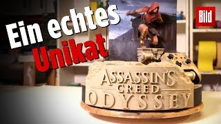 """So entstand die Xbox One X im """"Assassin's Creed: Odyssey""""-Look"""