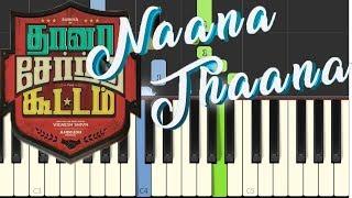 Thaanaa Serndha Koottam - Naana Thaana song tutorial