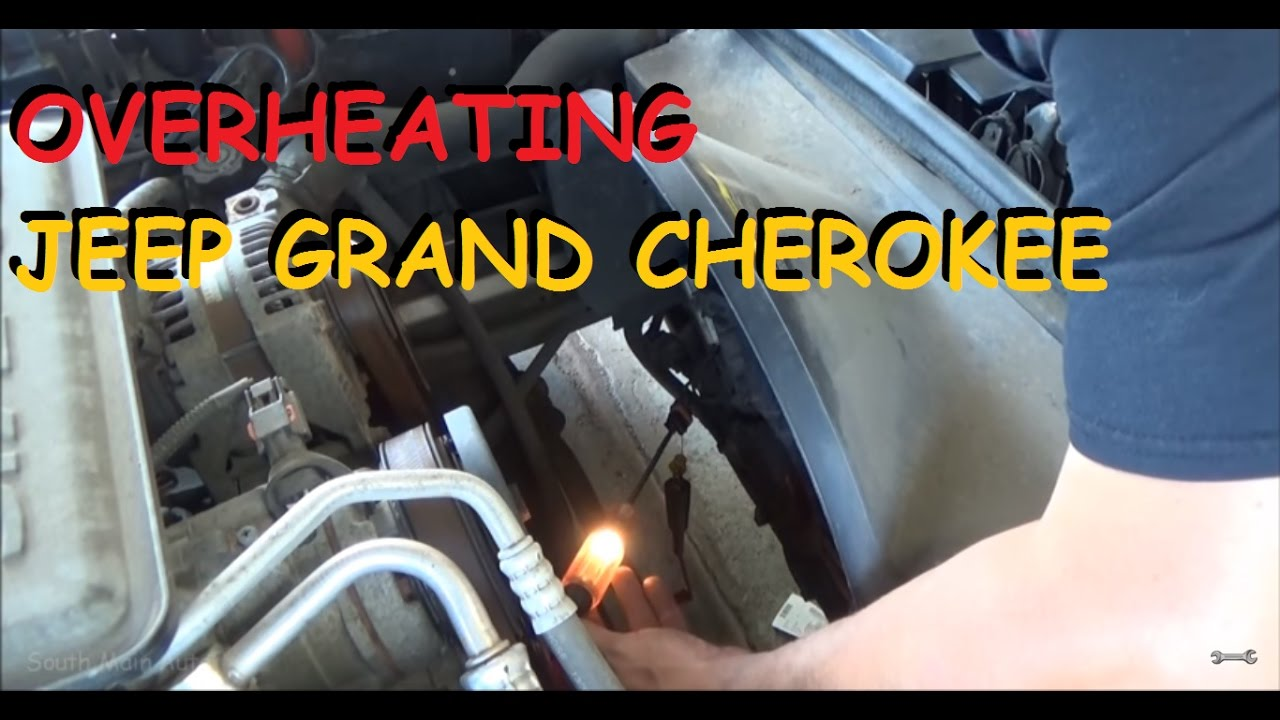 Jeep Grand Cherokee Overheating At Idle Youtube
