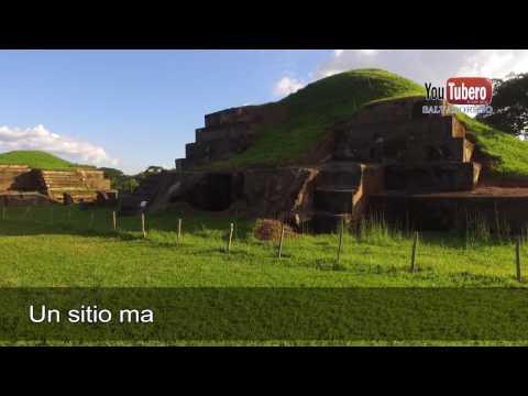 Sitio Arqueologico San Andres, en Drone El Salvador