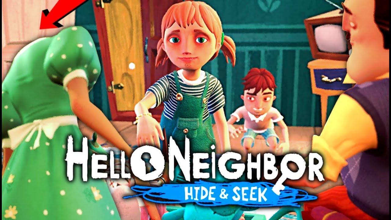 Hello Neighbor Hide Seek The Twist Ending Stage 1 Full Gameplay Walkthrough