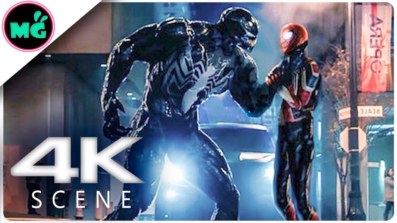 VENOM vs MCU Spider-man | Fight Scene (2019) Marvel Movie HD