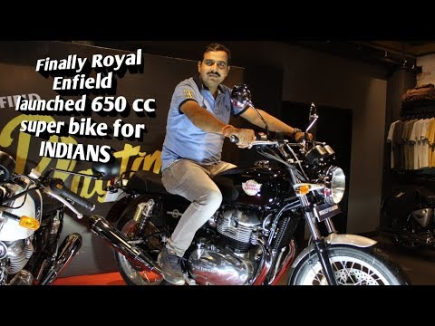 Royal Enfield Interceptor 650 and Continental GT 650 for INDIA