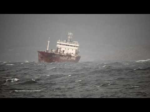 Oil/Chemical Tanker ORALYNN heading A Coruña [4K]
