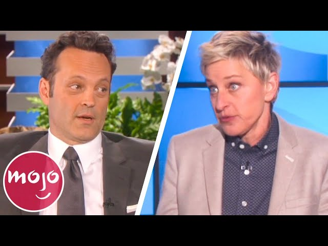 Top 10 Celebs Banned from Talk Shows