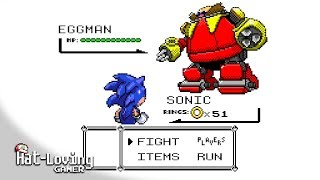 SONIC, in the style of POKéMON!