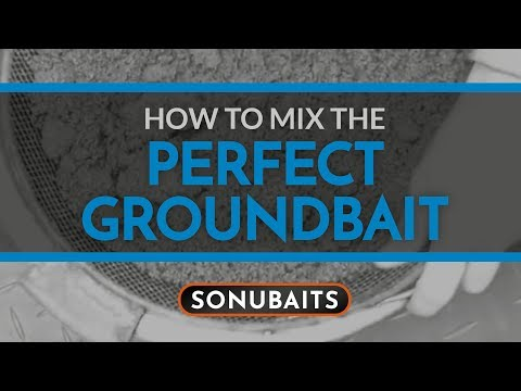 How To Mix The Perfect Groundbait
