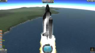 Kerbal Space Program #3 - Jak se dostat na orbitu?