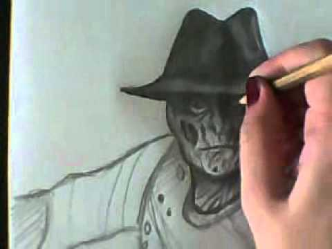 how to draw freddy krueger& 39