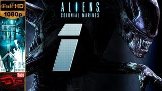 "Aliens: Colonial Marines - Español Parte 1 Gameplay Let´s Play  HD ""Mision 1"" 1/2 PC/PS3/Xbox360"