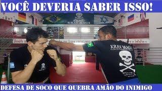 COMO DEFENDER UM SOCO E QUEBRAR A MÃO DO INIMIGO - DEFESA PESSOAL - KRAV MAGA thumbnail