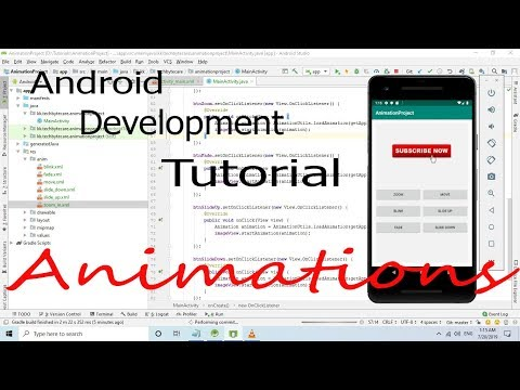 Android Development Tutorial : Working with Animation thumbnail
