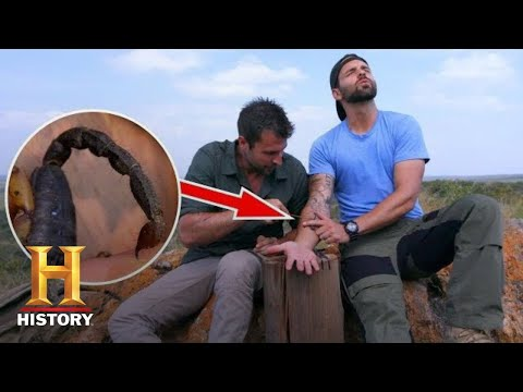 STUNG BY TWO NASTY SCORPIONS! | Kings Of Pain (Season 1) | History