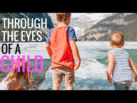 LAKE LOUISE - Exploring Canada's Great Outdoors - RV Traveling Family of 6!