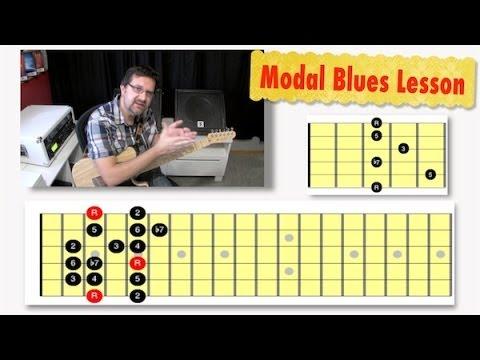 Modal Blues Lesson