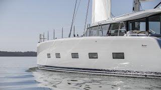 Ocean Explorer C 60 catamaran 2018 walkthrough at La Grande Motte