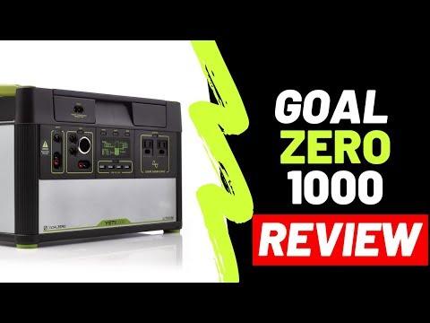 Goal Zero 1000 Yeti Lithium with WiFi (REVIEW)