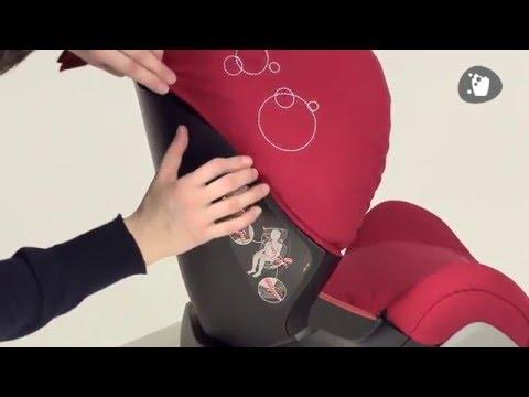 Maxi-Cosi Ferofix (Rodifix) | как снять чехол с автокресла