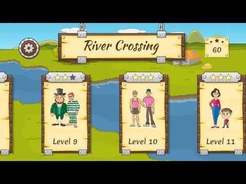River Crossing IQ Logic Puzzles & Fun Brain Games