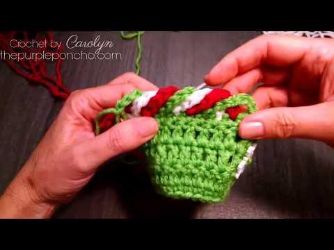Chain stitch crochet border