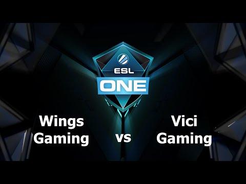 Wings vs VG Game 1 - ESL One Manila CN Qualifers - @LyricalDota @MotPax