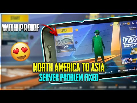 PUBG MOBILE LITE NORTH AMERICA SERVER TO ASIA SERVER CHANGE PROBLEM SOLVED IN TAMIL | 100% WORKING
