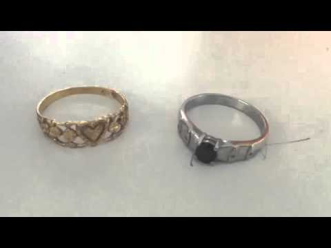 parison of Gold Ring vs Silver Ring