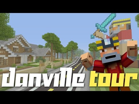 Minecraft Xbox One: Danville Throwback Tour! (Danville - Revisited!)