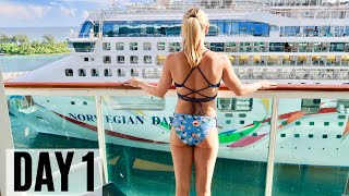 MY FIRST CRUISE! ROYAL CARIBBEAN | Navigator of the Seas! (Cruise Vlog 1, 2019)