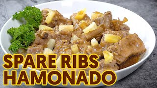 Hamonado Spare Ribs | Stewed Ribs with Pineapple