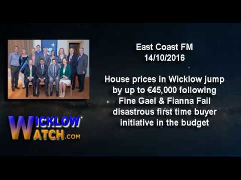 House Prices in Wicklow jump after Fine Gael Budget as Developers Profit