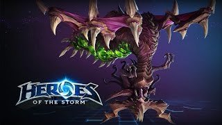 ♥ Heroes of the Storm (A-Z Gameplay) Zagara (HoTs Quick Match)