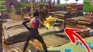 "Fortnite WEEK 9 Hidden Battle Pass Star Location ""Follow the treasure map found in Haunted Hills"""