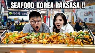 MAKAN SEAFOOD KOREA RAKSASA SEPANJANG 1 METER !!!