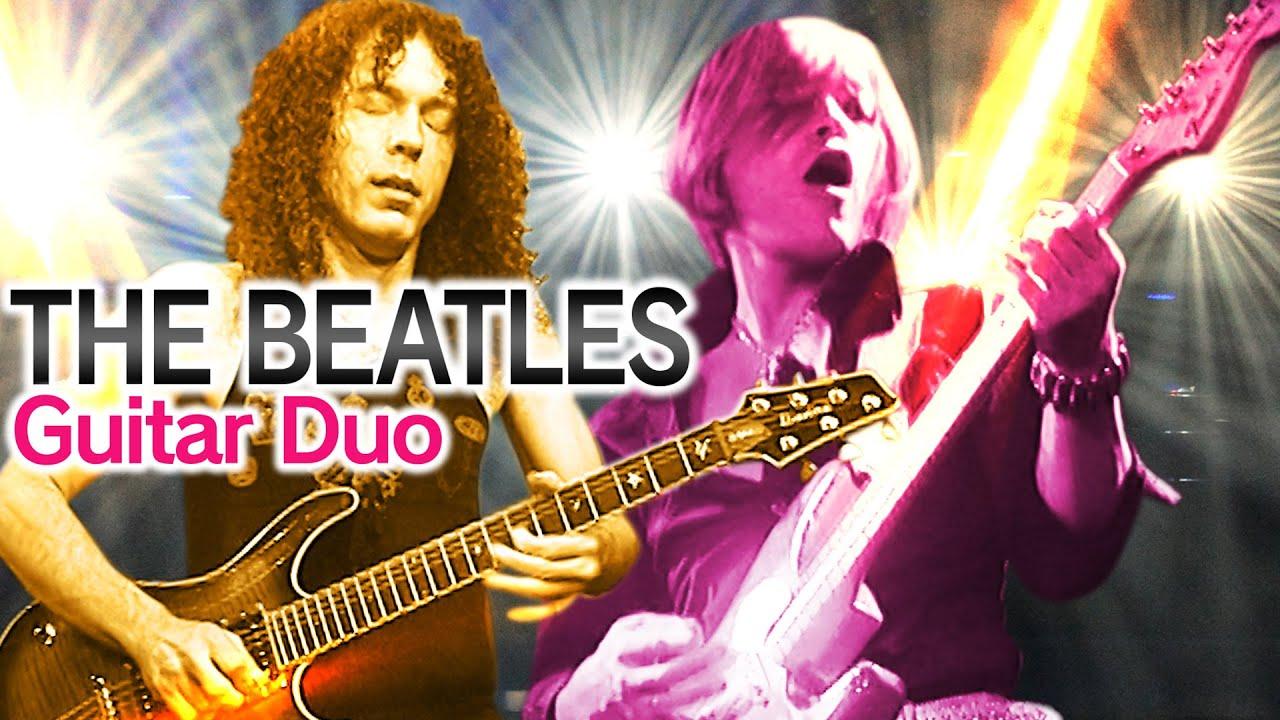 【THE BEATLES Guitar Duo】グラミー賞ノミネートの超名曲を圧巻のパフォーマンス!【MARTY FRIEDMAN×Hajime Anzai×Jun Miura×ROLLY】