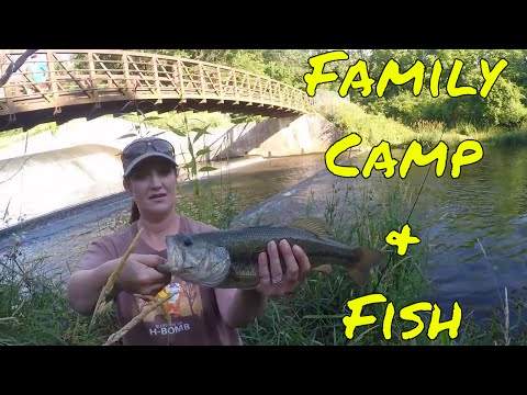 Family Camp & Fish (Behind the Scenes) Pine Lake State Park, Iowa