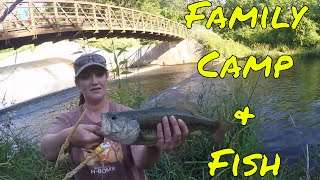 Family Camp & Fish (Behind the Scenes) Pine Lake State Park, Iowa