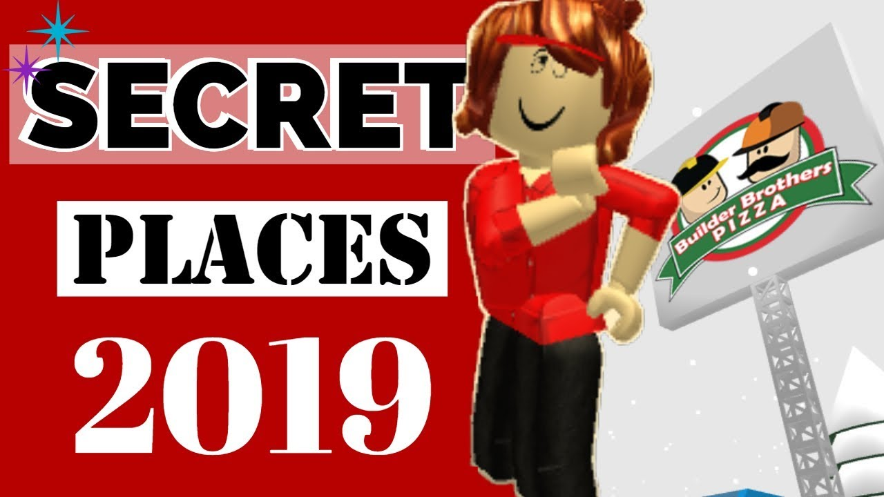 Secret Places In Roblox Work At A Pizza Place 2019 Rylans Family