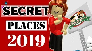 Secret Places in Roblox Work at a Pizza Place 2019-Rylans Family Fun