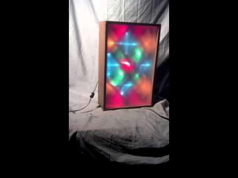 Vintage Realistic Radio Shack Color Sound Sensitive Audio Modulated Light Light Organ 42-3012