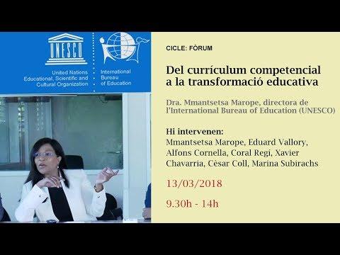 Del currículum competencial a la transformació educativa