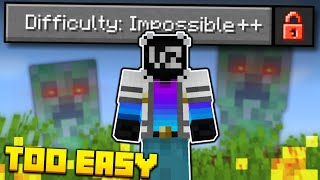 "I Beat Fundy's NEW ""IMPOSSIBLE"" Difficulty in Minecraft (first try)"